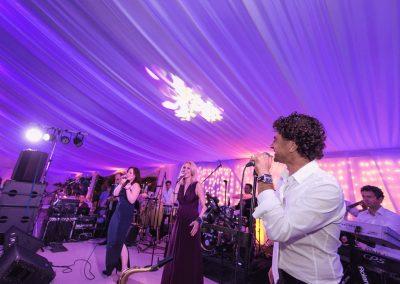 esküvői zenekar Vegas Showband színpadon
